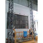 10M بالطاقة حبل الألومنيوم علقت منصة zlp1000 مرحلة واحدة 2 * 2.2kw