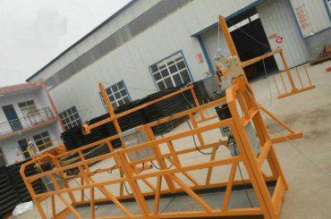 موثوقة ZLP630 اللوحة الصلب علقت منصة العمل لبناء البناء (2)
