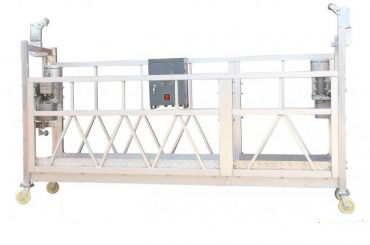 380v / 220v / 415v عالية الكفاءة نافذة تنظيف منصة zlp800 مرحلة واحدة